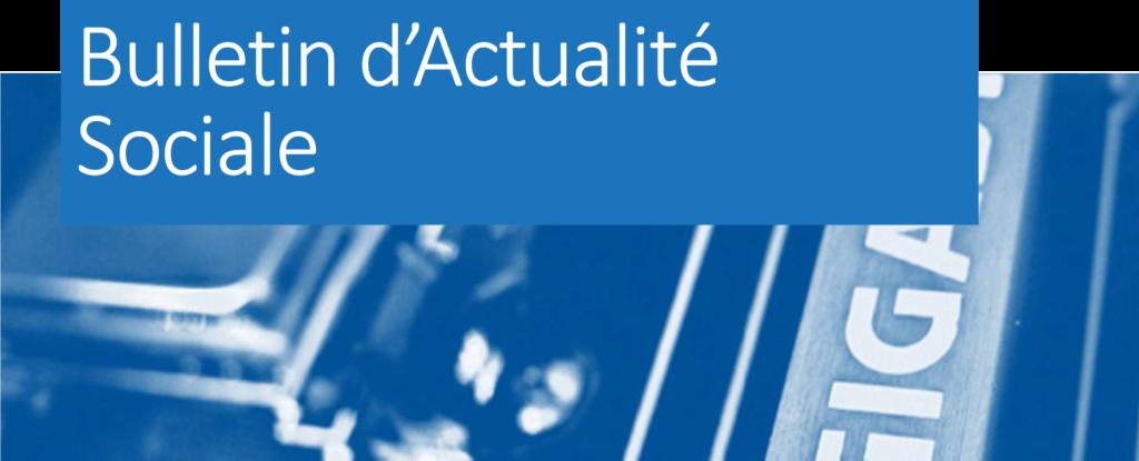 Bulletin d'Actualité Sociale