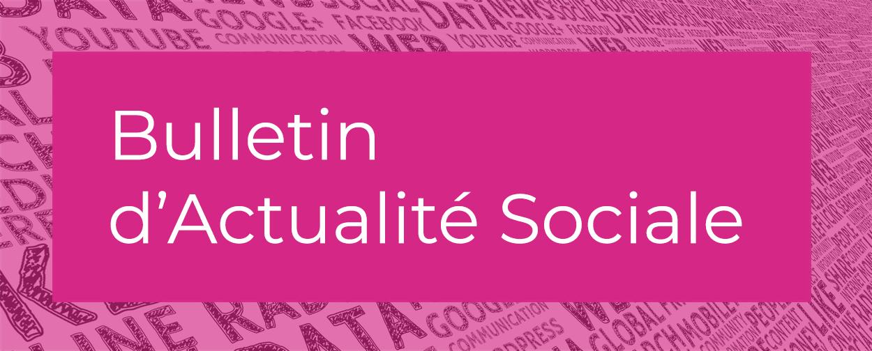 Actualité sociale Juillet-Août